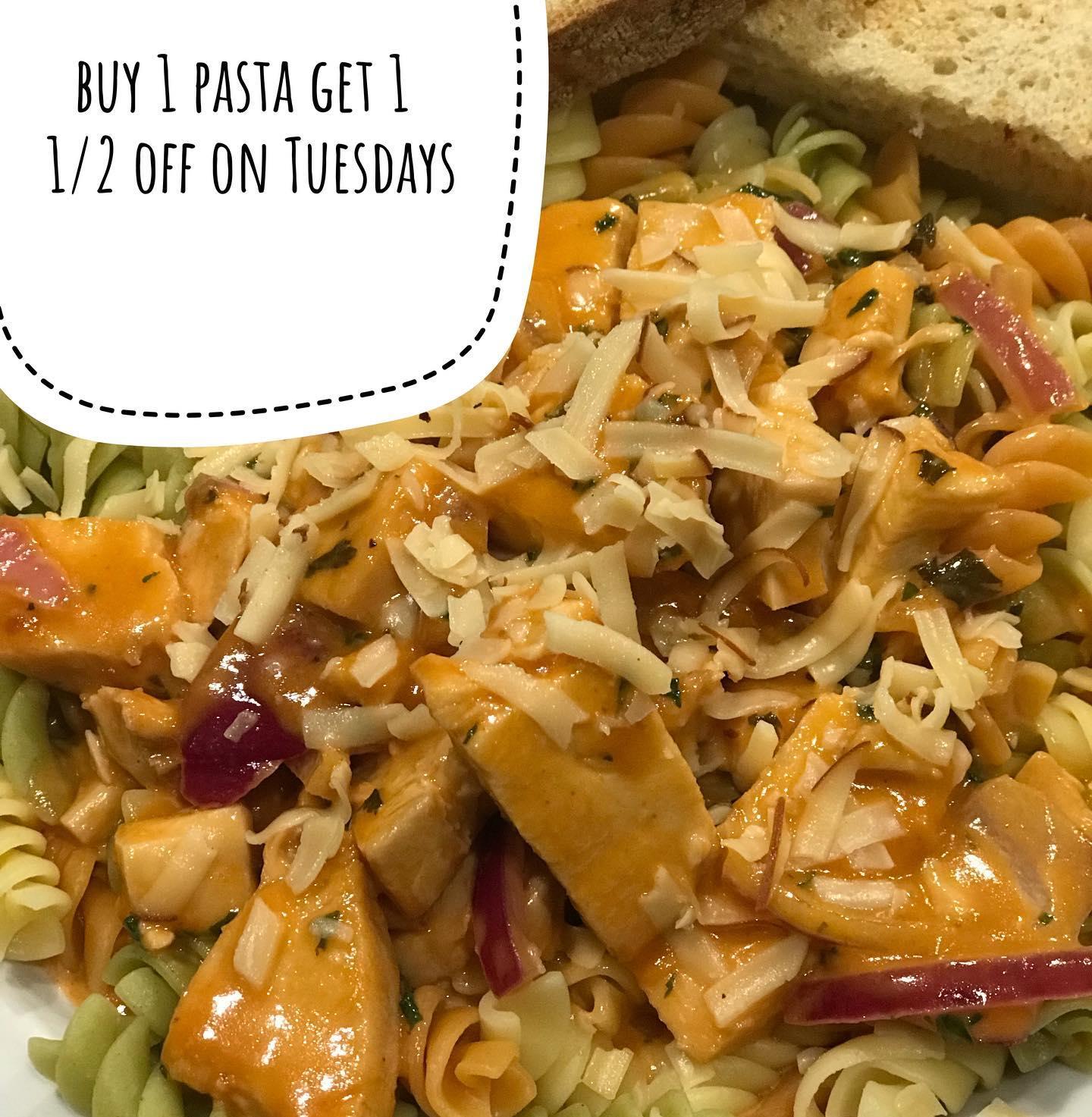 pasta for bogo tuesdays